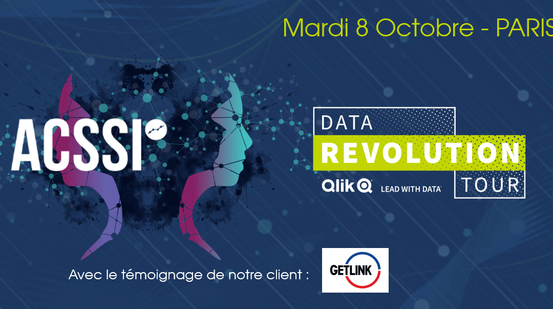 Data Revolution Tour 2019 / Rendez-vous le 8 Octobre à Paris