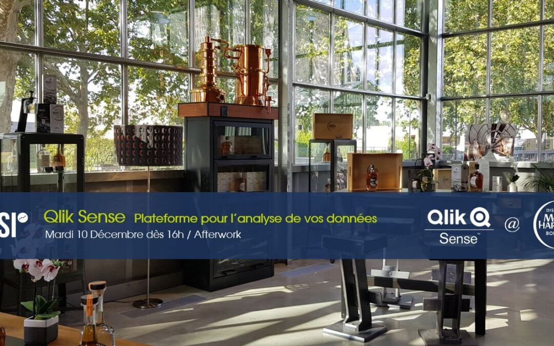 AfterWork / Nouveautés Qlik – Le Mardi 10 Décembre 2019 à Bordeaux