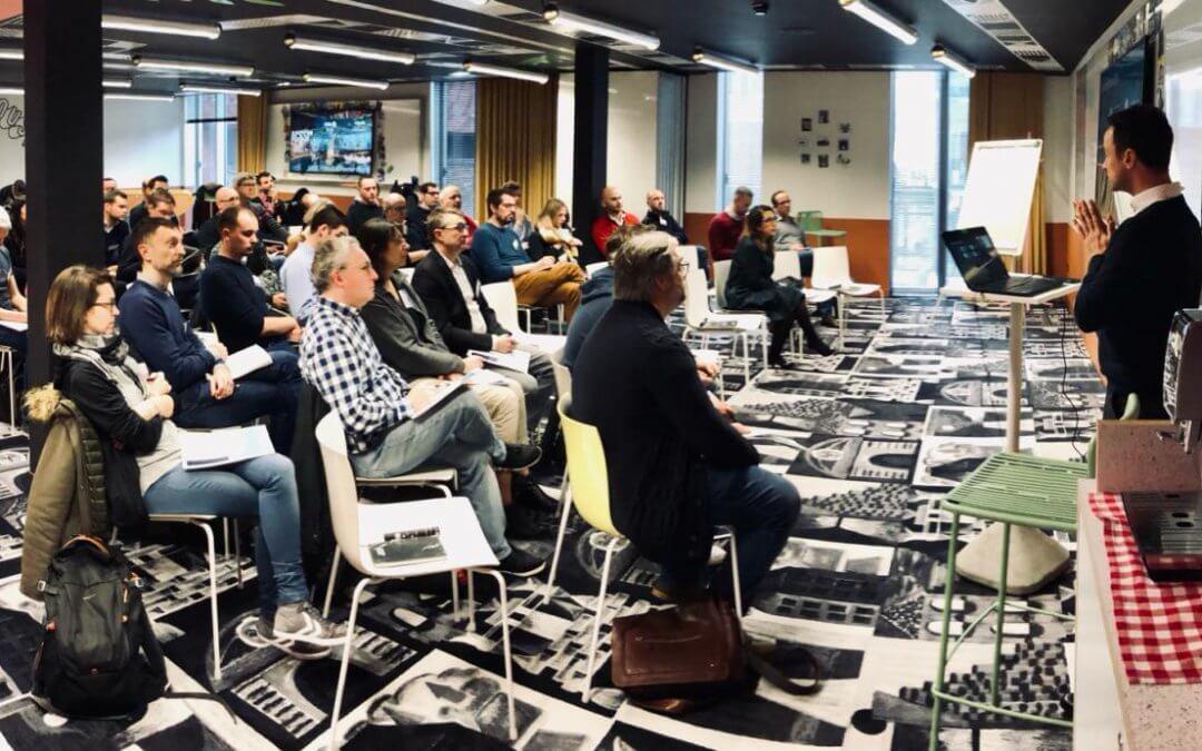 Merci aux +100 intervenants / participants à nos matinales Qlik !