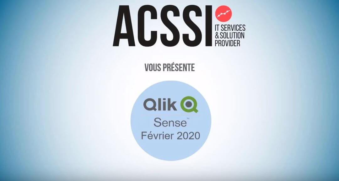 Qlik Sense Février 2020 est sortie ! Découvrez en moins de 5 minutes les nouveautés dans cette vidéo