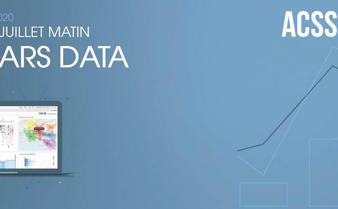 DATA Morning 2020 le Mercredi 8 Juillet matin – 3 Webinars : 3 raisons de s'inscrire ! Découverte / Nouveautés / Intégration