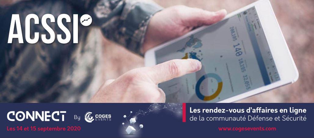 ACSSI Membre du GICAT – Partenaire du Connect by Coges 2020 les 14 et 15 Septembre