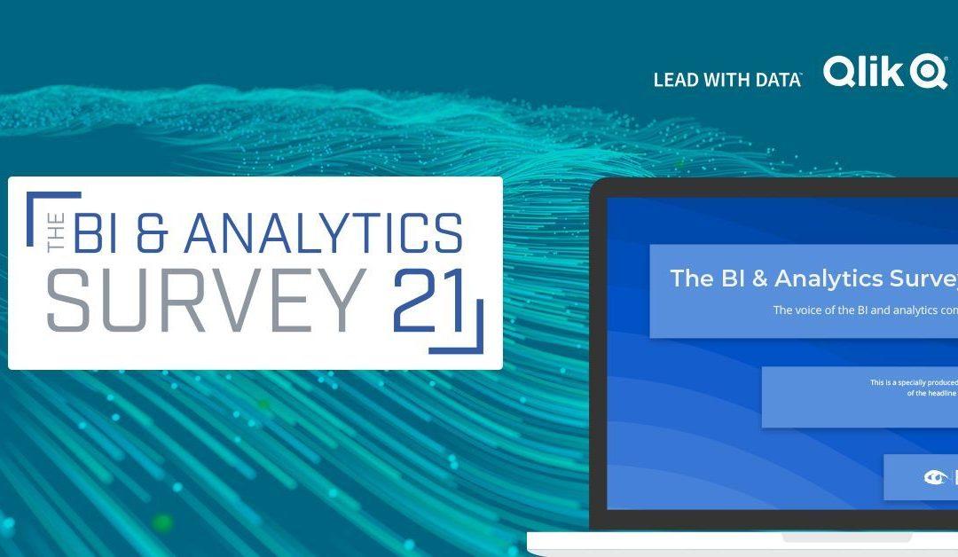 Découvrez le rapport BARC – BI & Analytics Survey 21 : Qlik, Tableau, Power BI, SAP…