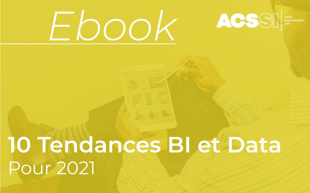 Découvrez les 10 tendances BI & DATA pour 2021