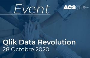 Data Revolution Virtual 2020 – Replay – Témoignages, Tendances de la Data, nouveautés Qlik Sense…